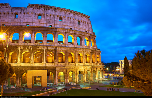 Rome's colosseum Photo: Moyan Brenn/Foter/CC BY