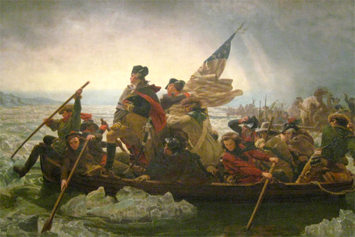 George Washington crossing the Delaware by Emanuel Gottlieb Leutze (1816-1868) Photo: wallyg/Foter/CC BY-NC-ND