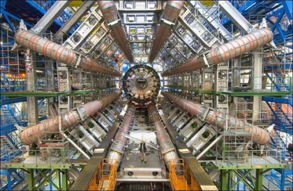 Hadron Collider in Cern, Switzerland Photo: Image Editor/Foter/CC BY