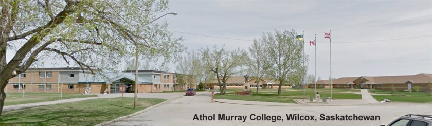 Athol Murray College of Notre Dame, Wilcox, Saskatchewan: Google Street View