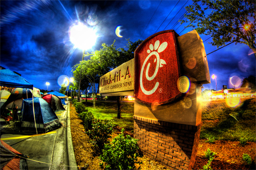 Chick-fil-A is closed on Sundays to allow workers to go to church. Photo: Lord is Good/Foter/CC BY-NC-SA