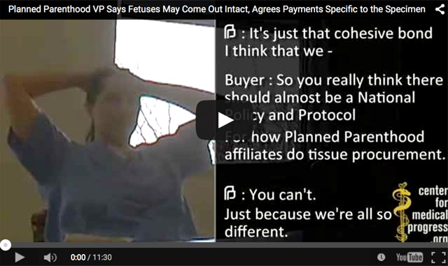 Planned Parenthood fourth video released