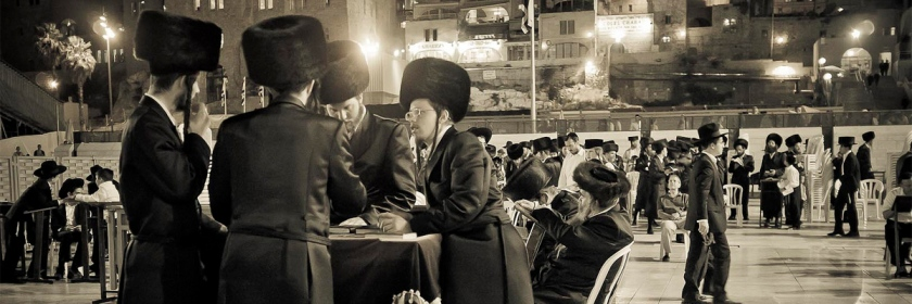 Orthodox Jews or Haredi at a meeting in Jerusalem Photo: Javier Corbo/Foter/CC BY-NC-ND