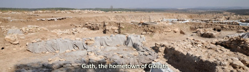 Archaeologists digging into Gath, the hometown of Goliath Photo: Flickr/orientalizing