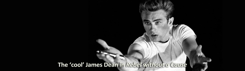 "James Dean in the 1956 movie ""Rebel without a Cause"" pictured the 'cool' kid in school who teens idolized Photo: Flckr/insomnia cured here"