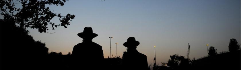 Orthodox Jews in Jerusalem. Photo Felix Abraham/Flickr