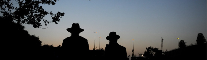 Orthodox Jews in Jerusalem. Photo Felix Abraham/Flickr
