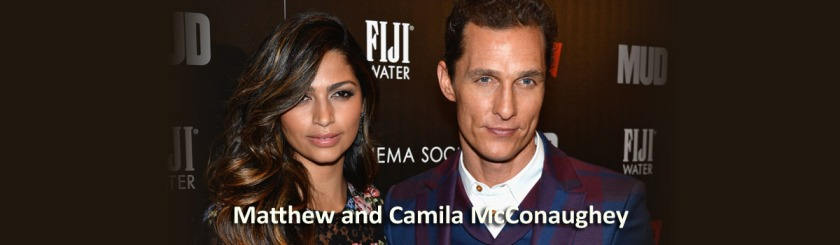 Matthew McConaughey and Camila: Getty Images