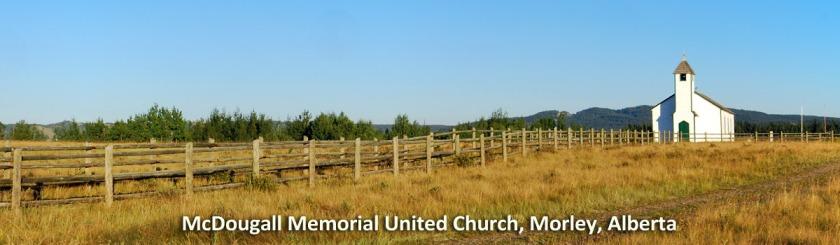 McDougall Memorial United Church, Morley, Alberta