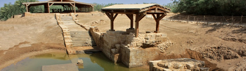 The traditional site on the Jordan River where John the Baptist baptized Jesus. Photo: Jan Smith/Flickr