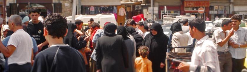 Market place in Aleppo, Syria Photo: Flickr/alejooo