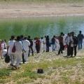 Baptismal service in Iran Photo: Elam Ministries elam.com
