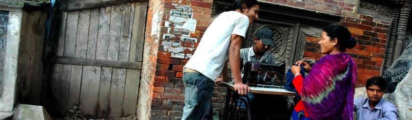 Tailor at work in Kathmandu, Nepal Photo: wonderlane/Flickr