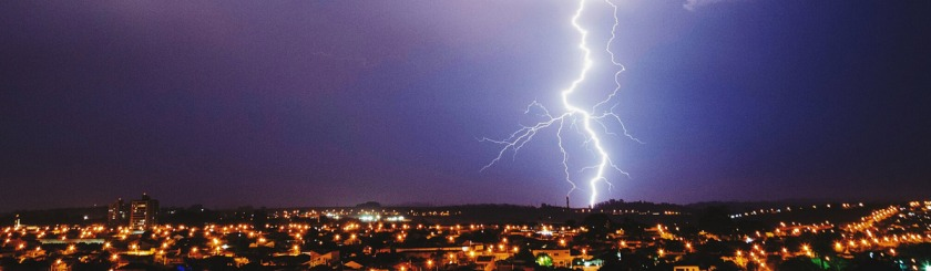 I saw Satan falling like lightening -- Jesus Luke 10:18 Photo: Lucas Marcomini/Flickr