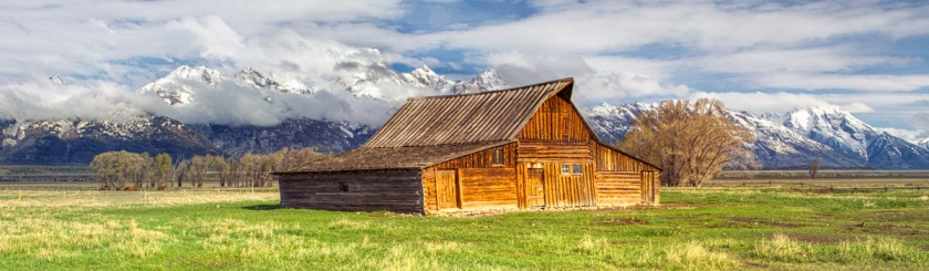 Mormon Row -- a collection of historic Mormon homes, Jackson Hole, Wyoming, US Photo: Hans Watson/Flickr