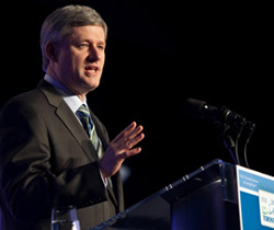 Former Canadian Prime Minister Stephen Harper Photo: Stephen Harper/Flickr