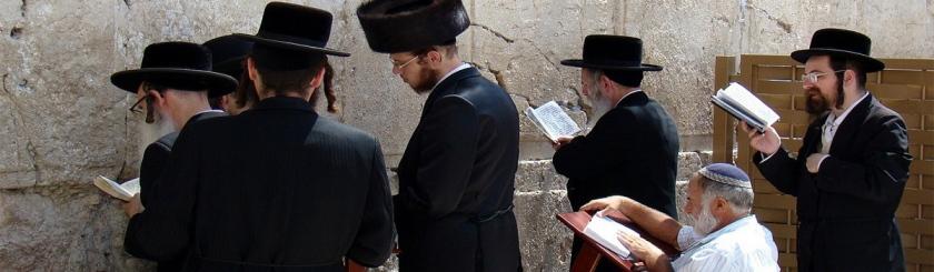 Orthodox Jews praying at the Western Wall in Jerusalem. Photo: Nico_/Flickr