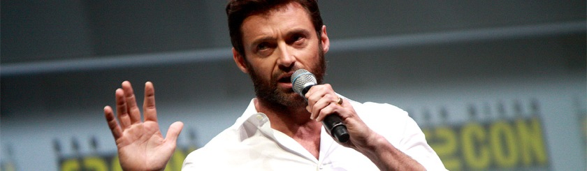 Hugh Jackman speaking at the San Diego Comic Con International in 2013. Photo: Gage Skidmore / Flickr