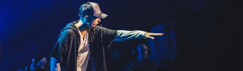 Justin Bieber in Oslo, Norway, October 29, 2015 Photo: NRK P3/Flickr