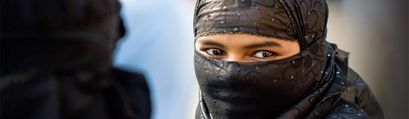 Muslim woman in Mumbai, India Photo: Trey Ratcliff/Flickr