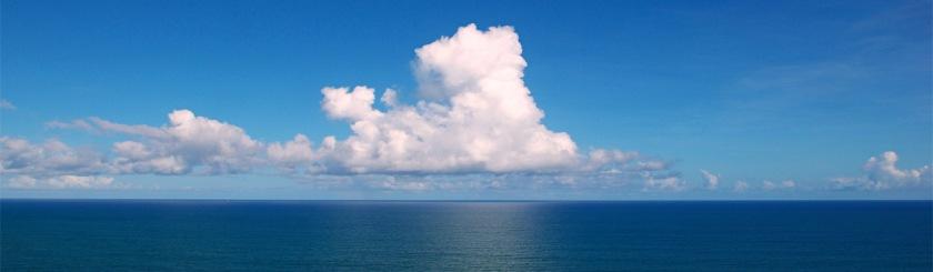 Photo of Atlantic ocean off of Brazil by Tiago Fioreze/Wikipedia