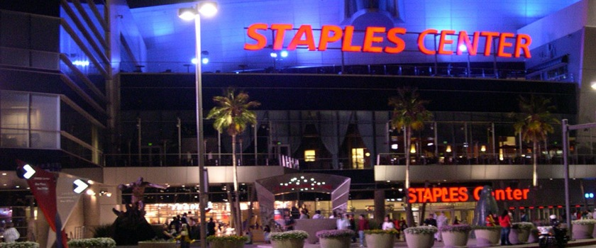 Los Angeles Staples Center photo Luca Zappa/Flickr