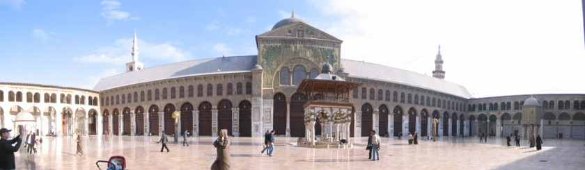 The Ommayad Mosque in Damascus, Syria was originally a church. Photo: reway2007/Flickr