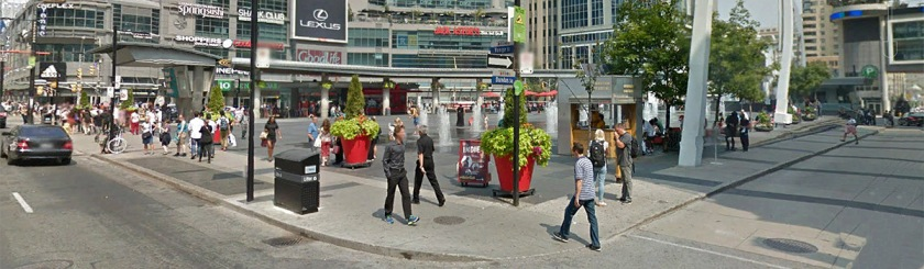 City of Toronto banning Christian music festival in Younge Dundas Square because they sing about Jesus. Photo: Google