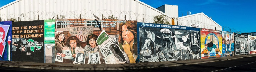 Murals in Belfast, Northern Ireland. Photo: Daniel Kulinski/Flickr/Creative Commons