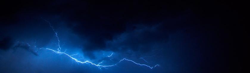 """I was watching Satan fall from heaven like lightning."" Jesus (Luke 10:18) Photo: Matt/Flickr/Creative Commons"