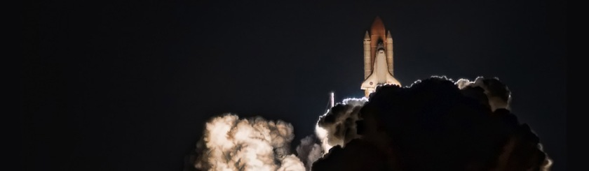 Launch of the Space Shuttle Discovery on April 5, 2010. Photo: Scott Kublin/Flickr/Creative Commons