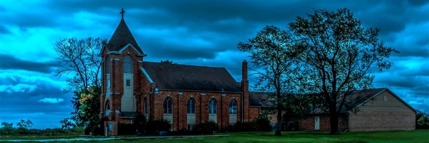 Rural church in Southern Illinois Photo: Jim Allen/Flickr/Creative Commons