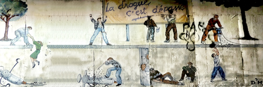 Mural: Dig out of the drug hole. Photo: photographymontreal/Flickr/Creative Commons