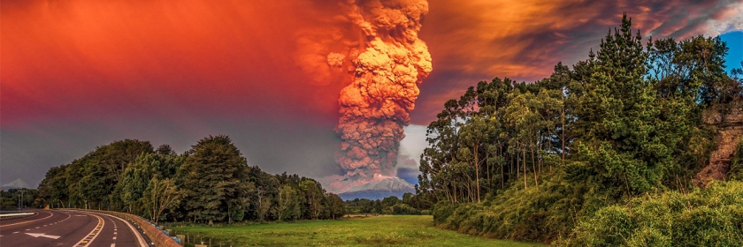 A sign of the times? Calbuco Volcanoe, Chile Photo: Andiseno Estudio/Flickr/Creative Commons