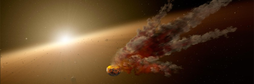 Artist's conception of an asteroid. Image NASA/Wikipedia/Creative Commons
