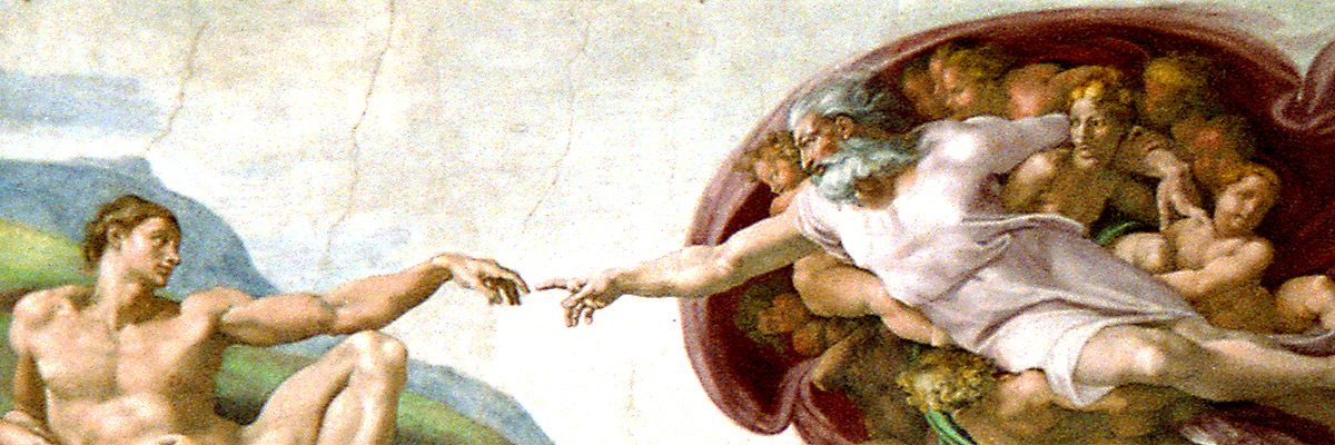 Michelangelo's Creation of Adam in the Sistine Chapel Photo: Bill Read/Flickr/Creative Commons