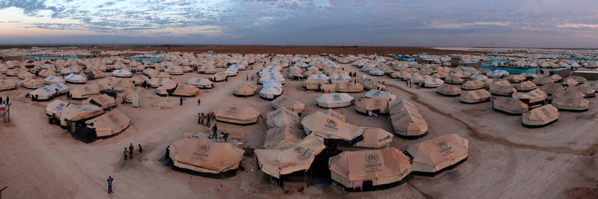 Za'atari Syrian refugee camp in Jordan. Photo UNHCR Photo Unit/Flickr/Creative Commons