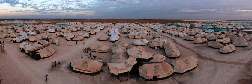 Za'atari Syrian refugee camp in Jordan. Photo UNHCR Photo Unit/Flickr/Creative Commons