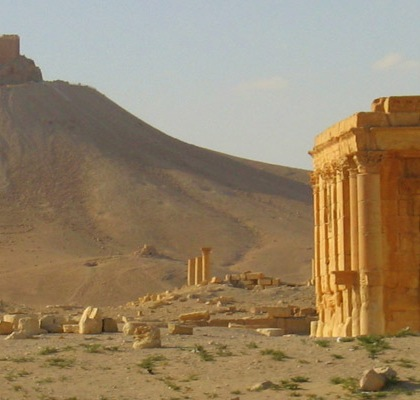 Temple of Baal in Palmra, Syria. Photo: oriana.italy/Flickr/Creative Commons
