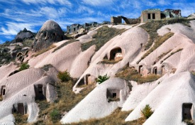 Cappadocia's strange landscape looks like a set off Star Wars.