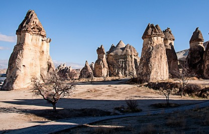 More fairy chimneys