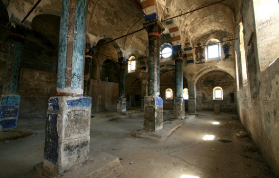 Inside a church built into the rock. Photo: Jordan Sitkin/Flickr/Creative Commons