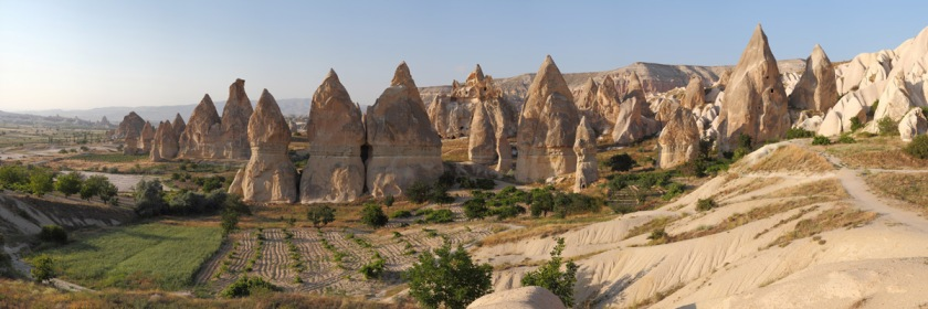 Cappadoina home of the fairy chimneys. Photo: Benh Lieu Song/Wikipedia