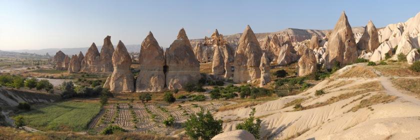 Cappadoina home of the fairy chimneys. Photo: Benh Lieu Song/Wikipedia