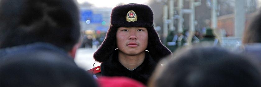 Guarding Tiananmen Square in Beijing, China Photo: Stephan Rebernik/Flickr/Creative Commons