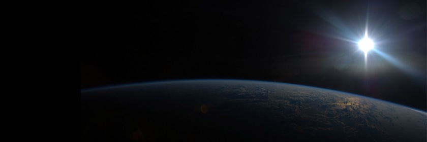 "And God said, ""Let there be light."" Sun appearing over the India ocean/Nasa/Flickr/Creative Commons"