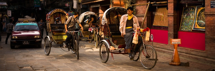 Busy street in Kathmandu, Nepal. Photo: Ben Ward/Flickr/Creative Commons