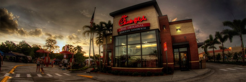 Florida-based Chick-fil-A restaurant. Photo: Robert du Bois/Flickr/Creative Commons