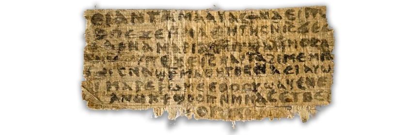 Jesus's wife fragment almost certainly a forgery. Image: Live Science/Harvard Divinity School