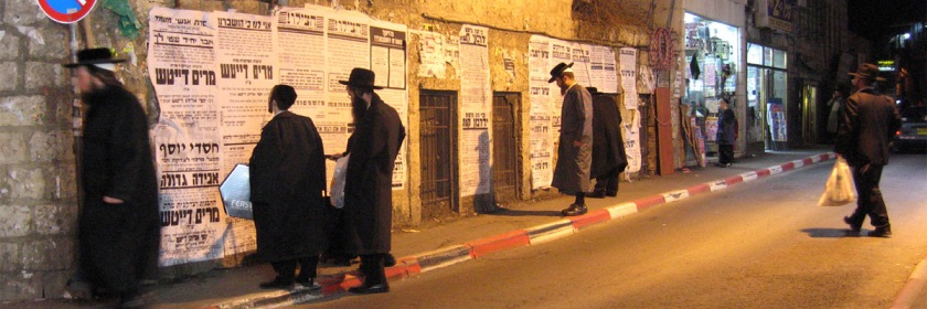 Hundreds of Orthodox Jews turning to Christ. Photo: Orthodox Jews in Jerusalem Claudius Prober/Flickr/Creative Commons